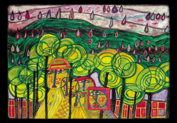 friedensreich-hundertwasser-rain-falls-far-from---